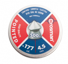 Crosman .177 Pointed Pellets Tin Of 500